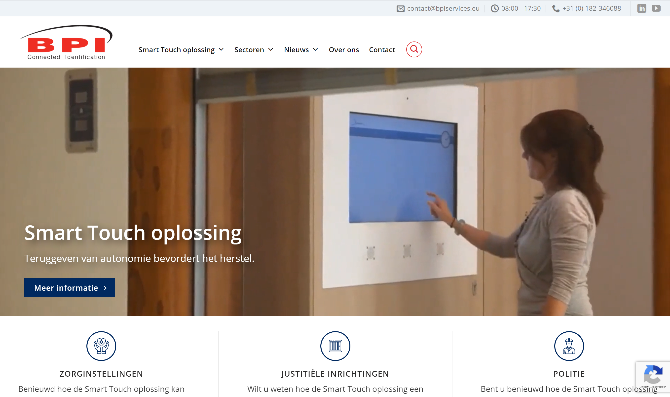 Homepage Smart Touch